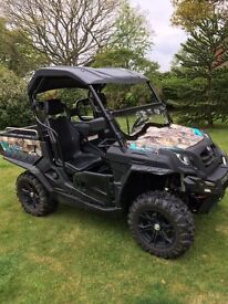 Quadzilla Tracker 550EPS-Road Legal- Petrol - Camoflage Color