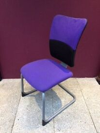 Steelcase cantilever meeting chair