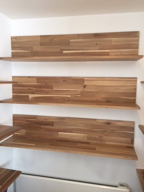 free shipping 3e3ff 7aaca Wall Shelves Acacia (skogsta) with mounting concealed. Very beautiful.  Perfect condition.   in Angel, London   Gumtree