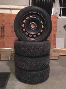 Hakkapeliitta RZ winter tires with rims