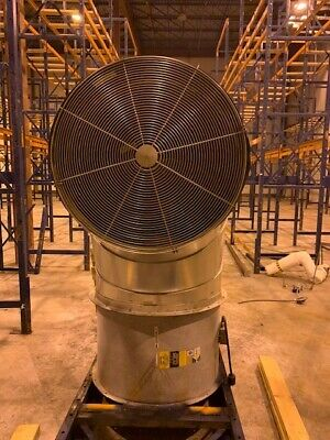 Used Aerovent Industrial Warehouse Fans 5