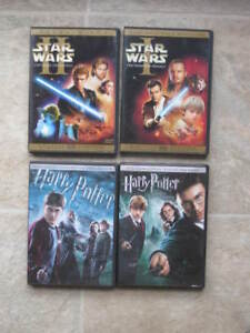 Lot 7 films DVD - FRANCAIS - Star Wars, Batman, Harry Potter