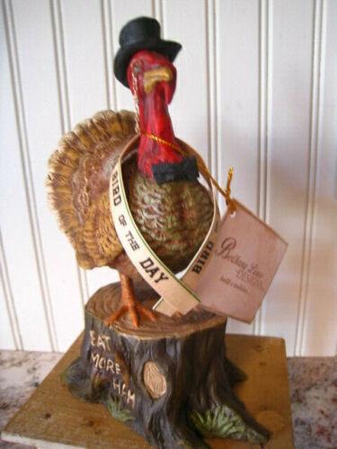 Bethany Lowe Thanksgiving Turkey Figurine Bird Of The Day  TD 8539 NEW 2019