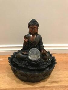 Buddah Water Feature - Rotating Crystal Ball Vermont Whitehorse Area Preview