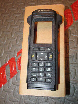 Motorola Apx7000 Black 3.5 Housing And Keypad Membrane Motorola Logo - Nib