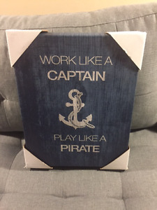 WORK LIKE A CAPTAIN PARTY LIKE A PIRATE PICTURE (NEW)