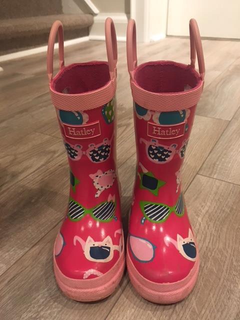 a7f24fd5b08 Toddler Girls Rain Boots (Hatley) Sz 7