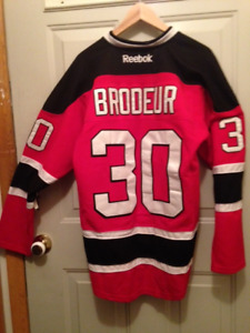 Authentic Marty Brodeur Sweater Jersey