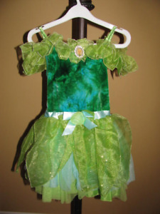 Original Disney Store Tinkerbell Costume and Accessories