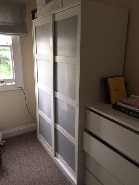kvikne ikea wardrobe for sale in hackney london gumtree. Black Bedroom Furniture Sets. Home Design Ideas