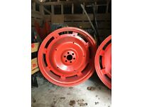 Tractor Wheels , Fordson E27N Excellent condition