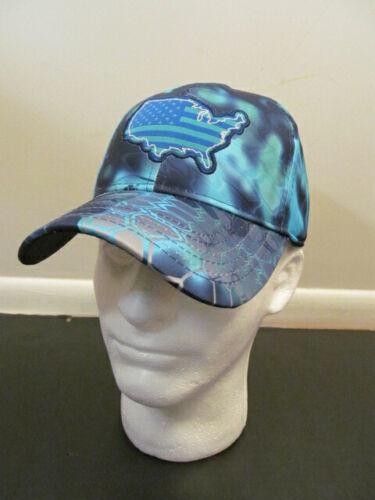 OC Outdoor Hat Cap Kryptek Pontus Continental USA, Blue, One Size