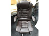 Leather Office Chairs x 2