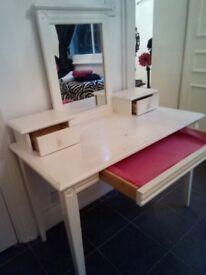 Vanity Table & Chair-£45