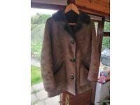 Ladys Sheep skin coat