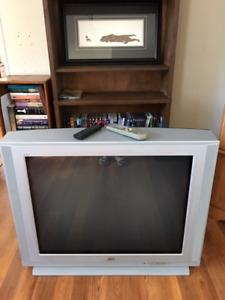 Large TV JVC model