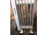 Portable oild filled Heater