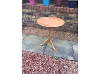 Round Ikea side table for sale £10