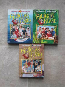 3 coffrets films DVD (Série TV) - Galligan's Island - complete