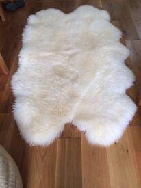 Sheepkin Rug, Henan Quad Rug, Windward, Ivory, Australia/New Zealand