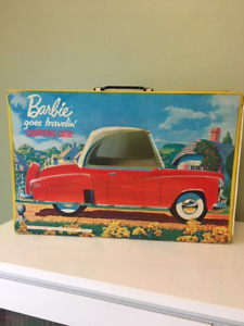 Vintage Barbie goes travelin' carrying case 1965