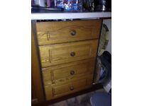 Solid Oak unit doors for kitchen