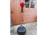 Ultrasport Speedball on spring stand free standing punching ball