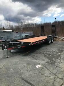 2018 Brimar EA20, 18' H.D. Low Prom Equipment Trailer