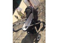 Silver cross Wayfarer pram/stroller for sale. £125 OVNO