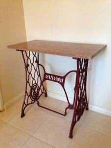 SINGER BASE MARBLE TOP HALL TABLE Balcatta Stirling Area Preview