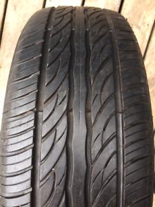 Set of 195/65/15 Sailun Atrezzo all season tires installed