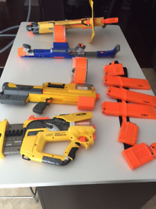 Collection of Nerf Guns with Darts - $115.00 for all