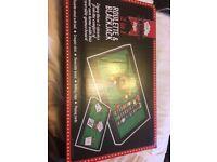Roulette & Blackjack 2 in 1 game board set