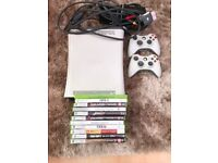 Xbox 360 60GB with 12 games