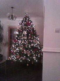 7 ft Christmas Tree (Hinged)