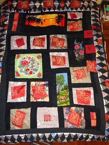 Quilt, Beadspread, Home Made, Titiled Mosaic Oakville / Halton Region Toronto (GTA) image 2