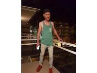 Blue eyed ginger irish lad moving to london