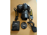 Nikon D7000 weather & dust resistant kit with optional extra telephoto zoom lens.