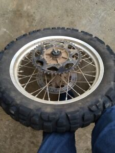 Front and Rear Wheels for 88-07 KLR 650