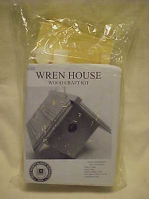 Wren House Kit (Wren House Wood Craft Kit Factory Sealed)
