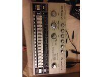 Roland TR 606 Drumatix Analog Rhythm Device + Mods + Doepfer MSY2 Midi2Din Box