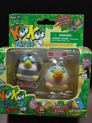Koo Koo Birds Collectible 2-Pack Sapsuck & Who-Zee What includes Goggles & Nest