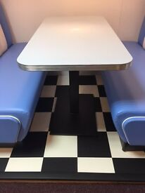 Retro Tables - Restaurant tables, Amirican diner tables