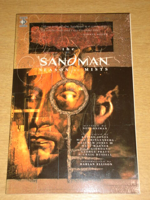 SANDMAN SEASON OF MISTS TITAN GAIMAN ELLISON JONES GRINGBERG < 9781852864477