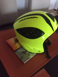 New racing ski helmet Alpina 55-58 for junior or small adult