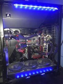 SLI Water Cooled Gaming PC - £800