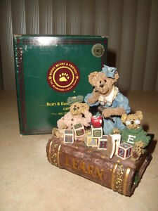 REDUCED- BOYDS - MUSICAL -MS. BRUIN & BAILEY..THE LESSON..$49.99