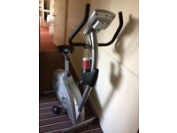 Reebok RB2 Exercise Bike with built-in wheels for easy maneuverability.
