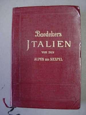Baedeker Italien, Leipzig 1926