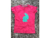 Lovely T Shirt from Mountain Warehouse. Age 13-14 yrs. Has Sunny Bunny emblem on front. Really cute.
